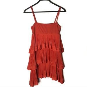 2/$22 H&M Tiered Pleated Dress XS